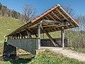 Steirisi Gedeckte Holzbrücke über den Necker, Mogelsberg SG - Brunnadern SG 20190420-jag9889.jpg