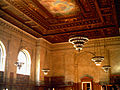 Stephen A. Schwarzman Building, Ceiling and Chandeliers.jpg