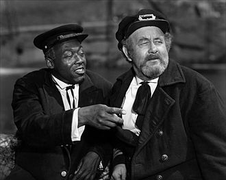 Chubby Johnson - Stepin Fetchit and Chubby Johnson (right)