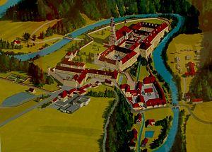 Zwettl Abbey - The buildings of Zwettl Abbey