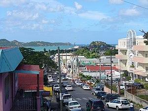 Street in St. John's, Antigua and Barbuda