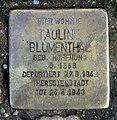 Stolperstein Deidesheimer Str 6 (Fried) Pauline Blumenthal.jpg