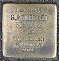 Stolperstein Günther Leo Schwarz, Düsseldorf, Am Wehrhahn 5 ( jetzt Am Wehrhahn 1).jpg