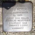 Stolperstein Gelsenkirchen Bismarkstraße 152 Toni Meyer.JPG