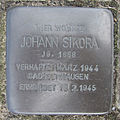 Stolperstein Johann Sikora Sattelstraße 51 Ahlen.nnw.jpg