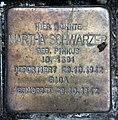 Stolperstein Karl-Marx-Allee 18 (Mitte) Martha Schwarzer.jpg