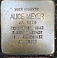 Stolperstein Kleve Große Straße 14 Alice Meyer.jpg