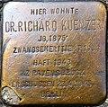 Stolperstein Richard Kuenzer Freiburg.JPG