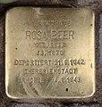 Stolperstein Westfälische Str 59 (Halsee) Rosa Beer.jpg
