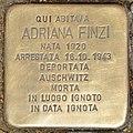 Stolperstein für Adriana Finzi (Rom).jpg