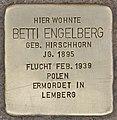 Stolperstein für Betti Engelberg (Heidelberg).jpg