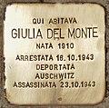 Stolperstein für Giulia Del Monte (Rom).jpg
