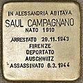 Stolperstein für Saul Campagnano (Alessandria).jpg