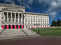 Stormont Parliament Buildings during Giro d'Italia, May 2014(4).jpg