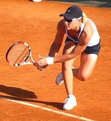 Samantha Stosur nel 2009 al Roland Garros, Parigi