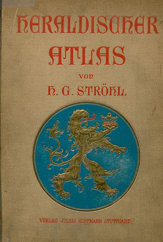 Heraldischer Atlas - the original book cover
