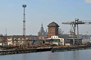 Stralsund, Hafen, 4 (2012-01-26) by Klugschnacker in Wikipedia.jpg