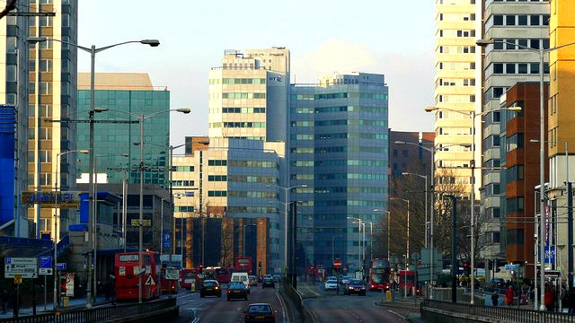 Street Scene, Wellesley Road, Croydon - geograph.org.uk - 1228521