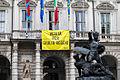 Striscione Verità per Giulio Regeni esposto da Comune di Torino.jpg