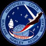 Missionsemblem STS-41-D