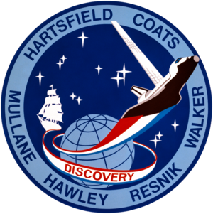 Steven Hawley - Image: Sts 41 d patch
