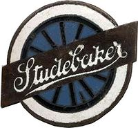 "Studebaker's ""Lazy S"" logo, designed by Raymond Loewy, was used from the 1950s until 1966"