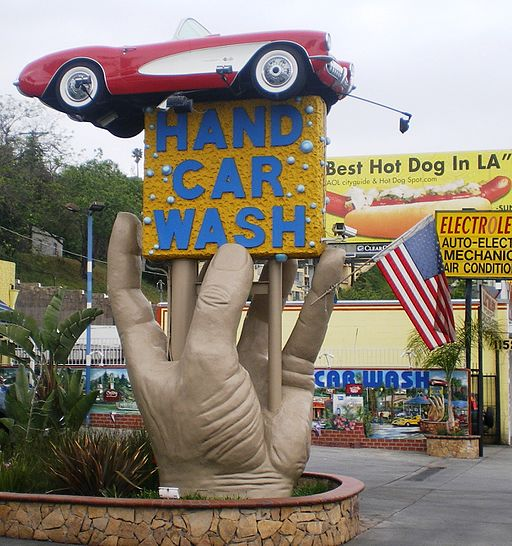 Studio City Hand Car Wash, Ventura Blvd., Studio City, CA