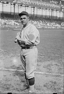 Stuffy McInnis American MLB player and manager