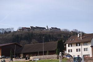 Steinmaur - Image: Suenikon rigardo al Regensberg (komunumo Steinmaur) 058