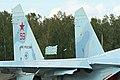 Sukhoi Su-27SM-3 Flanker 59 red (8507428165).jpg