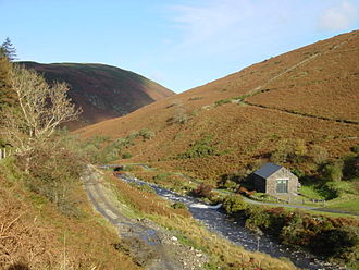 The Master of Man - Sulby Glen, the apparent location of Bessie's home