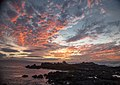 Sunset from a beach near Kihei, Maui (8034699432).jpg
