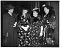 Supreme Court Justices' wives attend breakfast in honor of First Lady. Washington, D.C., April 25. Wives of the Chief Justices and the Associate Justices of the Supreme Court turned out on LCCN2016873464.jpg