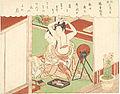 Suzuki Harunobu (1769) Fūryū Zashiki Hakkei - Kyōdai shūgetsu, cropped.jpg