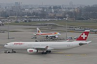 HB-JHI - A333 - Swiss