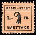 Switzerland Basel 1942 Tourism revenue 1Fr - 4.jpg