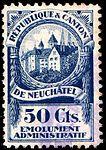 Switzerland Neuchâtel 1921 revenue 1 50c - 5D.jpg