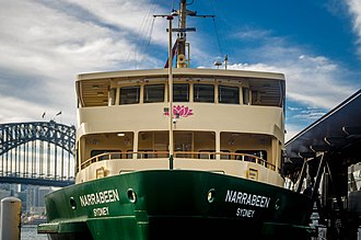 Harbour City Ferries - Image: Sydney Ferry MV Narrabeen 1