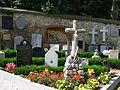 Szalejów Dolny. Ogrodzenie cmentarza przykościelnego..JPG
