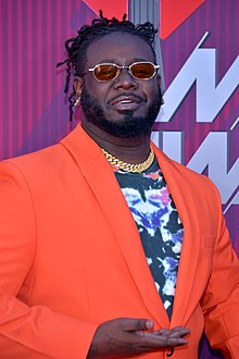 T-Pain at the 2019 iHeartRadio Music Awards