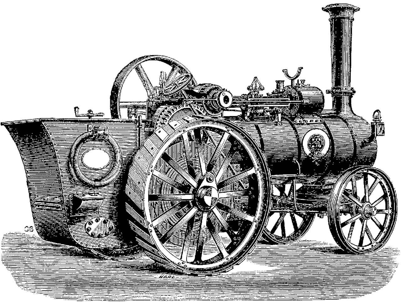 Fichier t5 d372 fig 305 machine vapeur routi re de mm ransomes siras et - Nettoyeurs de sols et vapeur ...