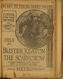 Description de l'image THE SCARECROW (1920) advertisement.jpg.