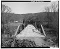 THROUGH VIEW, LOOKING EAST. - Lea Bridge, Spanning Candies Creek at Old Georgetown Road, Hopewell, Bradley County, TN HAER TENN,6-HOPE.V,1-9.tif