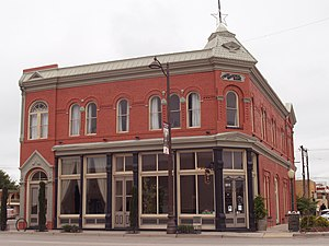 National Register of Historic Places listings in Eddy County, New Mexico - Image: TRINITY HOTEL 1