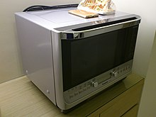 microwave oven with grill baking