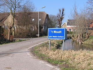 t Woudt Place in South Holland, Netherlands