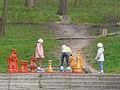 Tablă de șah într-un parc public din Chișinău (2014).jpg