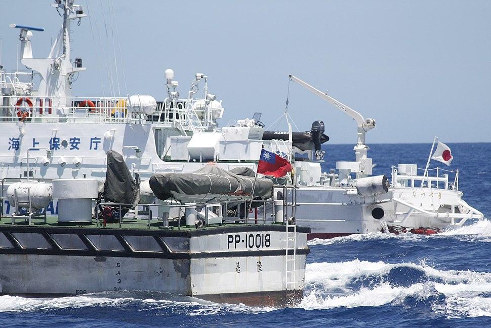 Taiwan and Japan Coast Guard 2012-09-25