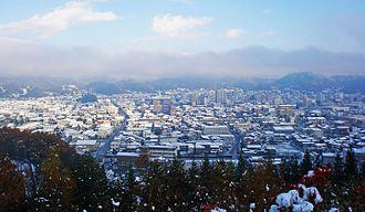 Takayama, Gifu - Image: Takayama's Early Winter Welcome (NE)