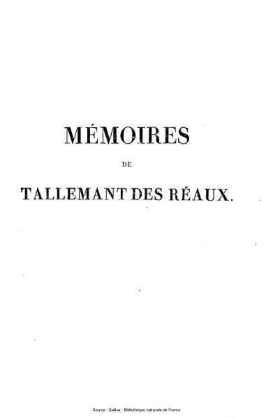File:Tallemant des Réaux - Les historiettes, tome 4.djvu
